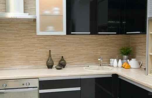 Küche sanieren - Wiederaufbau