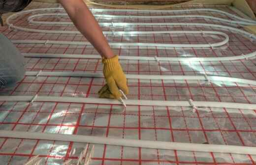 Klima- und Heizungsanlage reparieren - Ofen