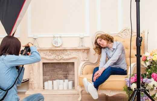 Fotoshooting - Taufe