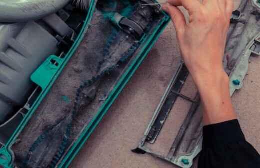 Staubsauger reparieren - Abspritzen