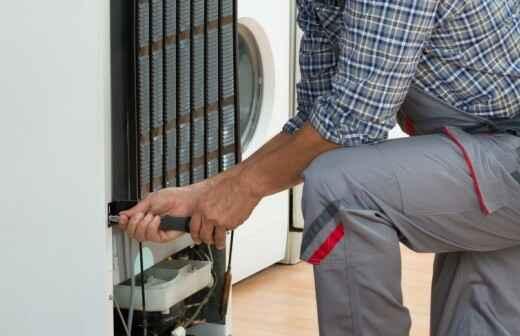 Kühlschrank installieren