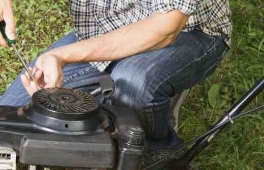 Rasenmäher reparieren - Gefrierschrank