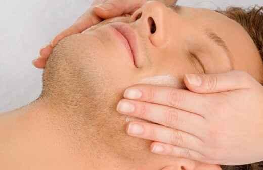 Gesichtsbehandlung (für Männer) - Beine
