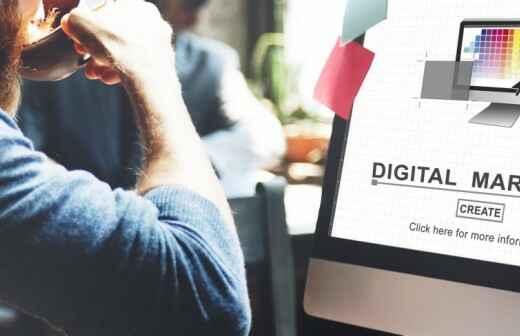 Digitales Marketing - Entwurf