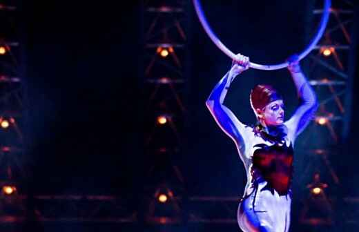 Zirkusnummer - Pantomimen