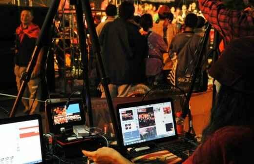 Videobearbeitung - Filmproduzent