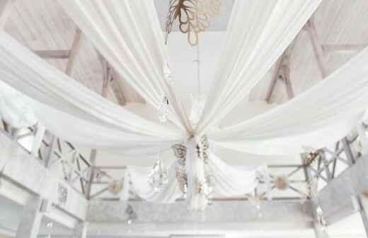 Hochzeitsdekoration - Hallen