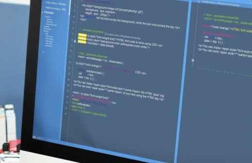 Webentwicklung - Bewirtung