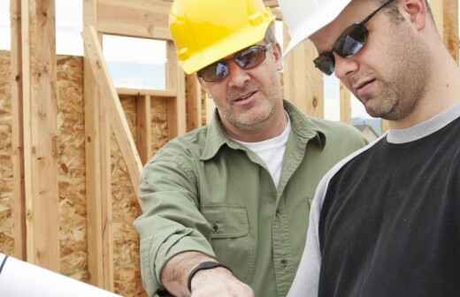 Hausbau - Wiederaufbau