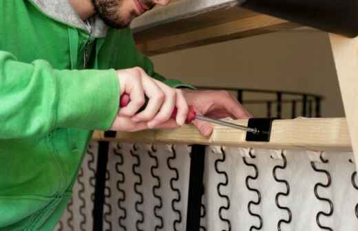 Möbel reparieren - Korb