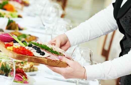 Catering Service für Hochzeit - Blumensträuße