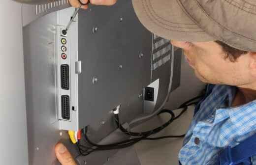 TV Reparatur - Einstellungen