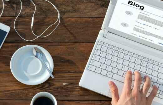 Blog Design (Website) - Bewirtung