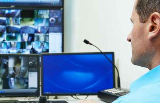 Wachdienst / Sicherheitsdienst - Aufblasbar