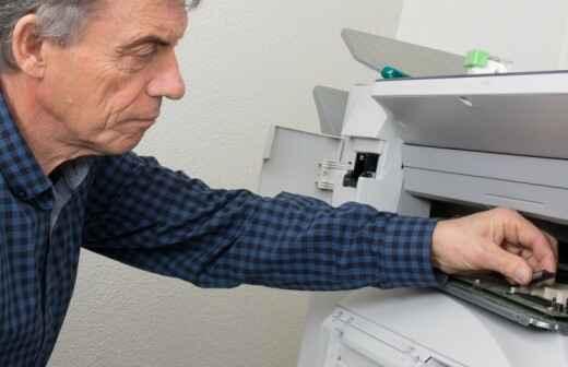 Drucker und Kopierer reparieren - Scanner