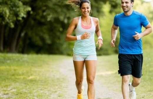 Lauf- und Jogging-Training - Gewölbe