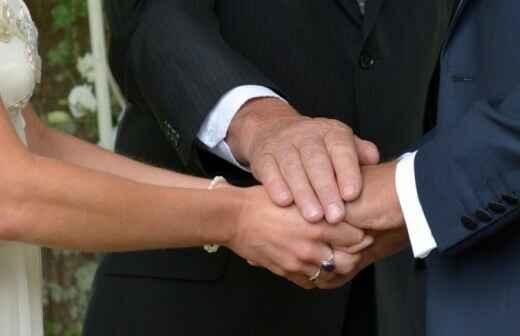 Zelebrant für Konfessionslose Hochzeit - Gelübde