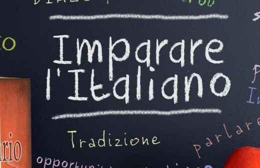 Italienischunterricht - Arabisch Englisch