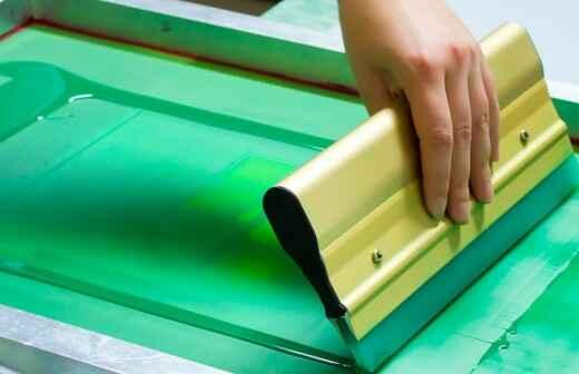 Siebdruckkurse - Textil-