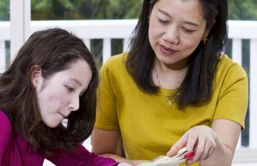 Mandarinunterricht - Arabisch Englisch