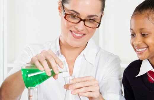 Nachhilfe in Naturwissenschaften - Eingesetzt