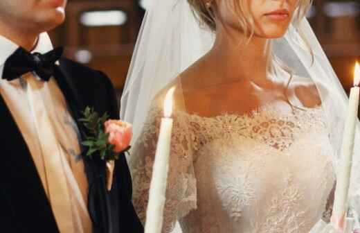 Zelebrant für eine evangelische Hochzeit - Gelübde