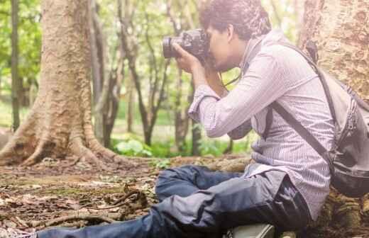 Landschaftsfotografie - Tauchgerät