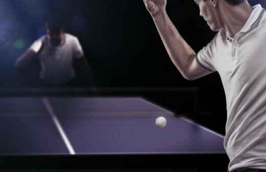Tischtennistraining - Bludenz
