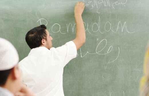 Arabischunterricht - Araber