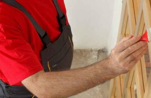 Tür lackieren - Eingangstür