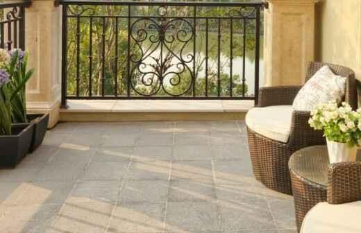 Balkon renovieren - Decken