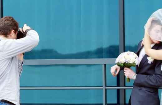 Hochzeitsfotografie - Stehend