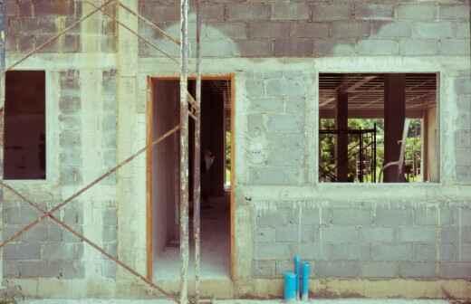 Bauunternehmen - Bohrer