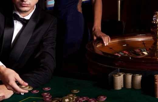 Mobiles Casino mieten - Goldene Hochzeit