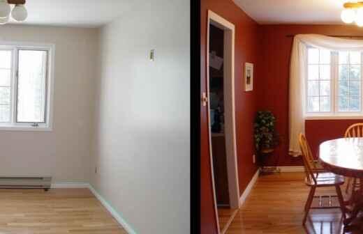 Home Staging - Wertsteigerung / Umstyling der Immobilie - Tapete