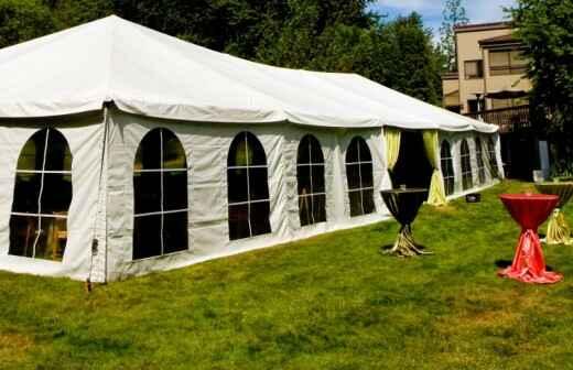 Tent Rental - Babyshower
