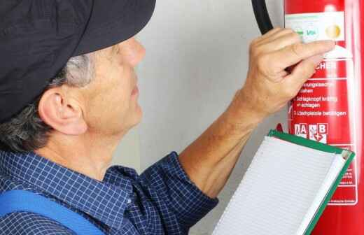 Fire Extinguisher Inspection - Monthly