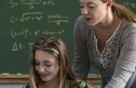 College-level Math Tutoring