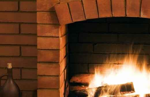 Fireplace and Chimney Repair - Mason