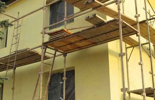Exterior Painting - Ceilings