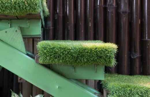 Artificial Turf Installation - Synthetic