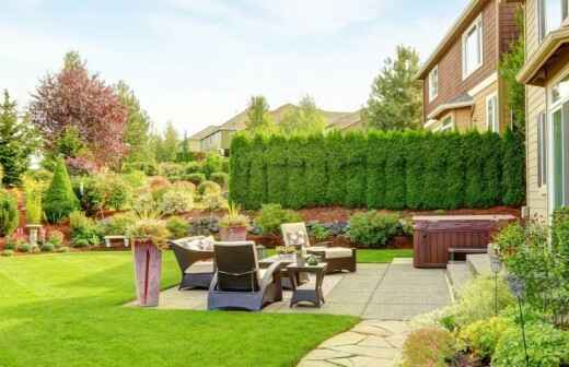 Outdoor Landscaping - Home Works Companies
