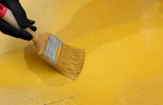 Floor Painting or Coating - Lacquering