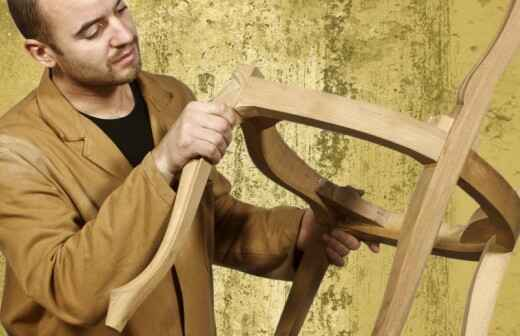 Fine Woodworking - Railing