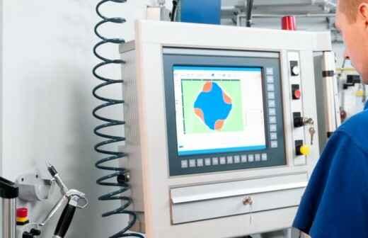 CNC Machine Service - Lath