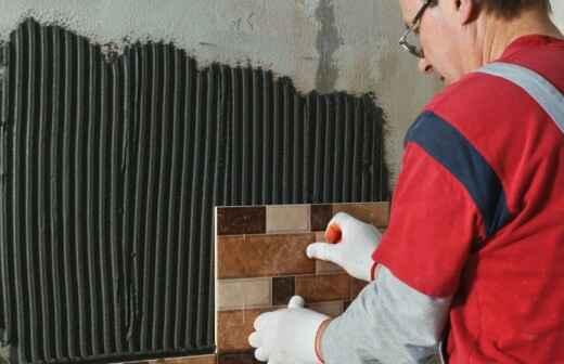 Ceramic or Porcelain Tile Installation