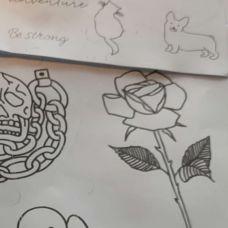 Henna Tattoos Zeichner Schnellzeichner Karikaturist Portraitzeichner -  anos