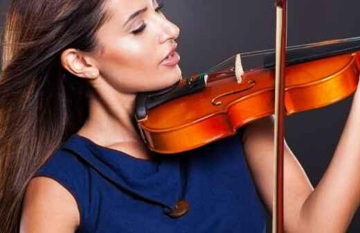 Violinenunterricht - Dargereicht