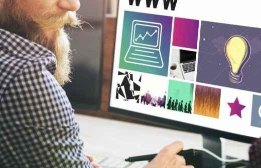 Web-Design und Entwicklung - Entwurf