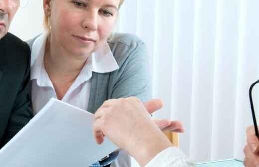 Finanzdienstleistungen und -planung - Vorschlag